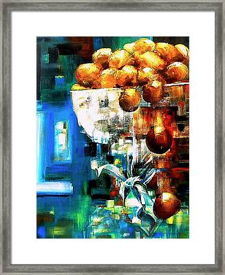 Wandering Motion Framed Print by Laurend Doumba