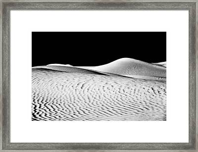 Wandering The Desert Framed Print