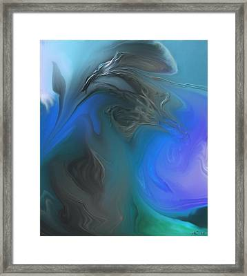 Wandering The Rift Framed Print