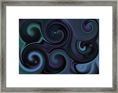 wandering Universe Framed Print by Ricky Haug