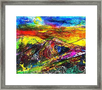 Wandering Framed Print by Wendy Butler
