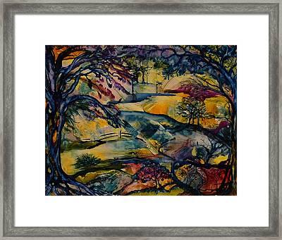 Wandering Woods Framed Print