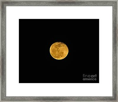 Waning Passover Moon Framed Print by Al Powell Photography USA