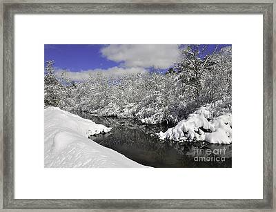 Wankinco River Framed Print