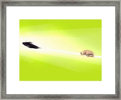 Wanna Believe Framed Print by Daniel Janda