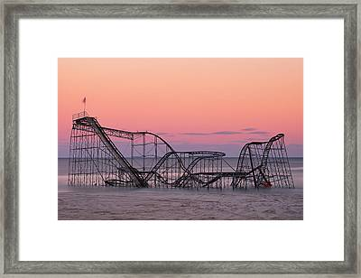 Wanna Go For A Ride Framed Print