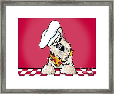 Wanna Pizza Me 3 Framed Print by Kim Niles