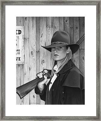 Wanted Framed Print by Doug Comeau