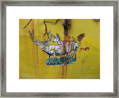 Wanted Framed Print by Melanie Spencer