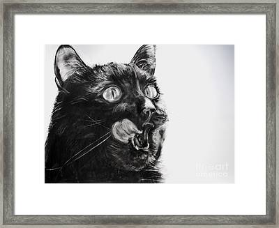 Wanting Framed Print by Valerie  Bruzzi
