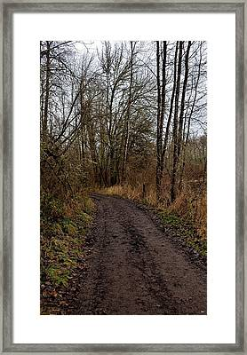 Wapato State Access Area Framed Print