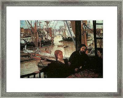 Wapping Framed Print by James Abbott McNeill Whistler