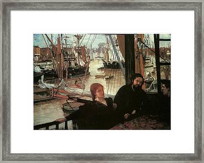 Wapping Framed Print by James Abbott McNeill Whistler