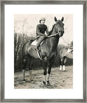 War Admiral Vintage Horse Racing #001 Framed Print by Retro Images Archive