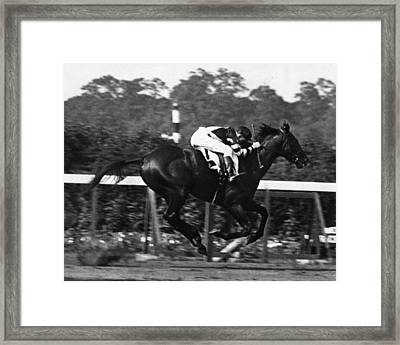 War Admiral Vintage Horse Racing #002 Framed Print by Retro Images Archive