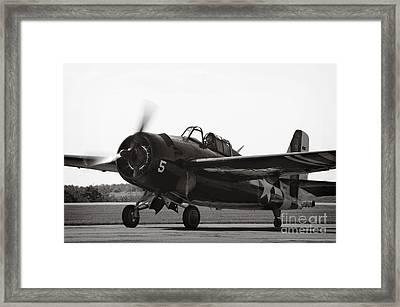 War Bird From Ww11 Framed Print