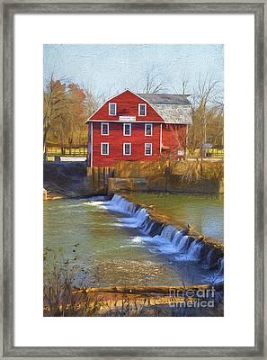 War Eagle Mill Framed Print by Elena Nosyreva