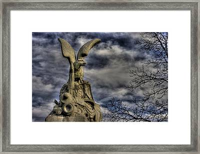 War Eagles - 88th Pa Volunteer Infantry Cameron Light Guard-b1 Oak Hill Autumn Gettysburg Framed Print