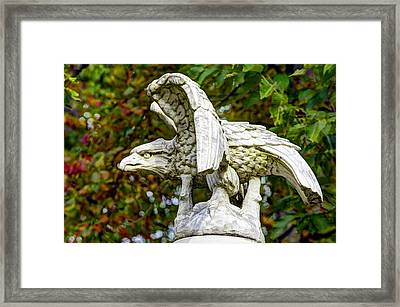 War Eagles - Vermont Company F 1st U. S. Sharpshooters Pitzer Woods Gettysburg Framed Print by Michael Mazaika