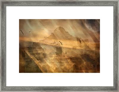 War Is Hell Framed Print by Judy Hall-Folde