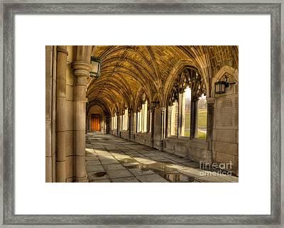 War Memorial Cornell University Framed Print