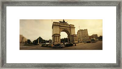 War Memorial, Soldiers And Sailors Framed Print by Panoramic Images