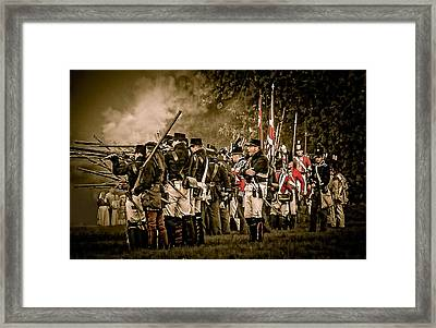 War Of 1812 Framed Print