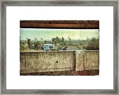 War Of The Worlds - 2012 Framed Print