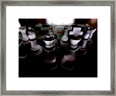 War Plans Framed Print by Steve Taylor