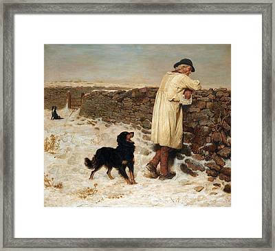 War Time Framed Print by Briton Riviere