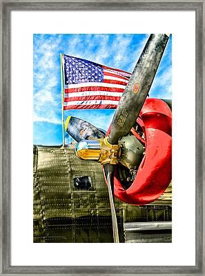 Warbird Pride Framed Print