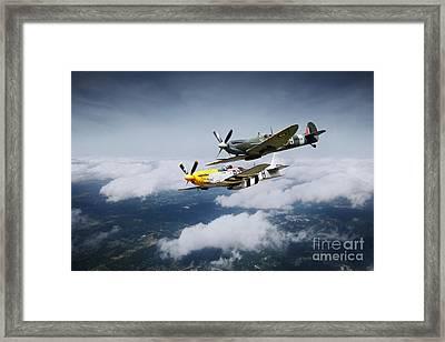Warbird Wonders  Framed Print by J Biggadike