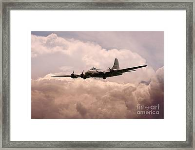 Warbirds - B17 Flying Fortress Framed Print