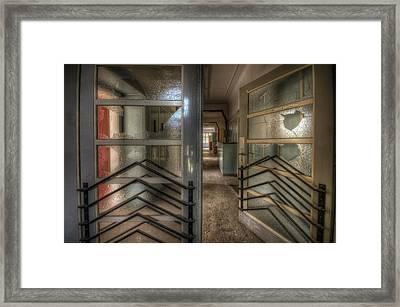 Ward Doors Framed Print