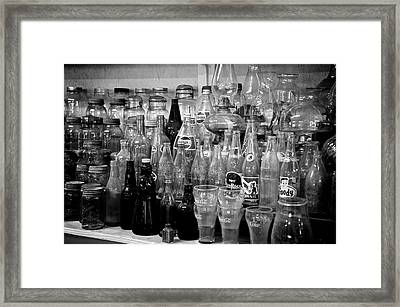 Wares Framed Print by Brandon Addis