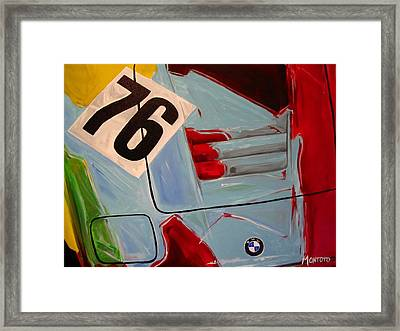 Warhol M1 Framed Print