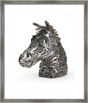 Warhorse Framed Print by Lawrie Simonson
