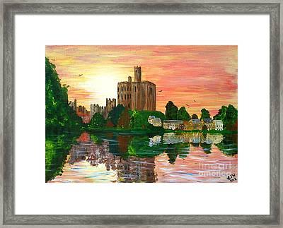 Warkworth Sunset Framed Print