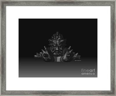 Warlord Framed Print by R Muirhead Art