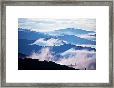 Warm And Cool Framed Print by Rob Travis