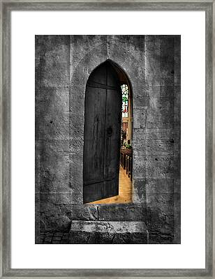 Warm And Welcome Framed Print