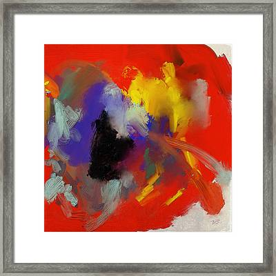 Warm Autumn Night Framed Print by Nop Briex