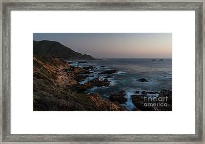 Warm California Evening Framed Print by Mike Reid