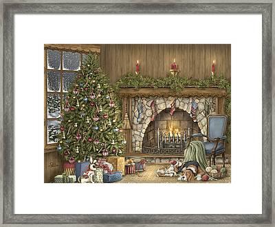 Warm Christmas Framed Print