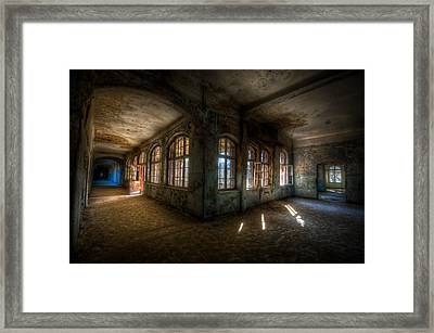 Warm Corner Framed Print