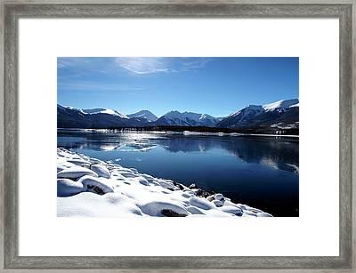 Warm December Framed Print by Jeremy Rhoades