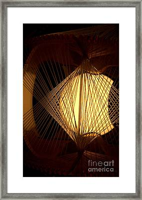 Warm Fusion Framed Print by Newel Hunter