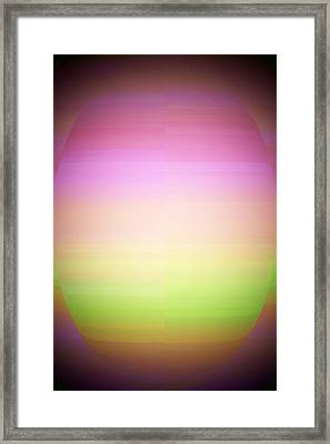 Warm Meditation Framed Print