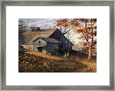 Warm Memories Framed Print