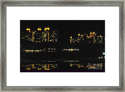 Warm Night Please Framed Print by Katherine Williams